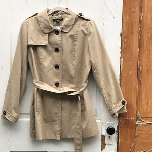 Willi Smith tan all weather jacket Size Large